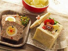 BOXパンのリラックマプレート|なおちゃんのキャラ弁&キャラスイーツⅡ |Ameba (アメーバ)