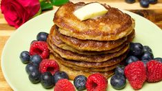 Healthy oat pancakes with wheat bran. How to cook healthy pancakes.