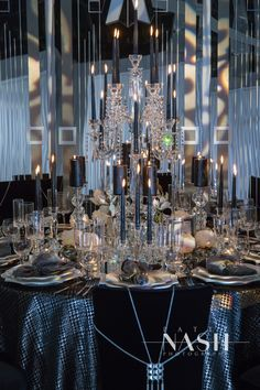 Designed and Styled by Jose Graterol. Blue Dining Tables, Wedding Decorations, Table Decorations, Party Stuff, Ideas Para, Centerpieces, Photography, Design, Home Decor