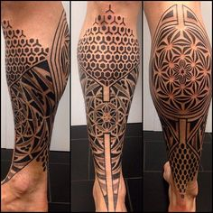 Work in progress Mais Mais Leg Sleeve Tattoo, Leg Tattoo Men, Calf Tattoo, Leg Tattoos, Black Tattoos, Body Art Tattoos, Tattoos For Guys, Cool Tattoos, Geometric Tattoo Leg Sleeve