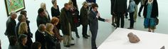 Vernissage de l'exposition COBRA, sous le regard d'un passionné - LAAC Dunkerque - octobre 2012/mars 2013- Photo Cathy Christiaen