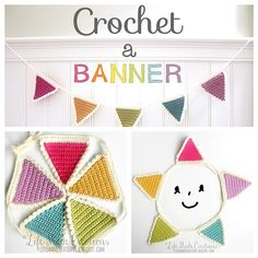 Crochet a Banner Pattern and Tutorial