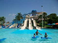 #Mauritius Leisure Village Water Park - We did visit many places in Mauritius. Finally we were almost about to wrap up when my friend suggested me to visit the Leisure Village in Mauritius. I was a bit hesitant as it was unplanned but it really turned out to be worthwhile. The beach and the #waterpark are ideal places to take your family too. #travel #wanderlust #destination