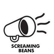 Logo Screaming Beans Coffee. Amsterdam