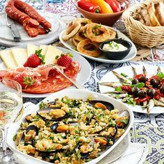 Pasta Salad, Cobb Salad, Gazpacho, Tapas, Chorizo, Brunch, Appetizers, Ethnic Recipes, Salta