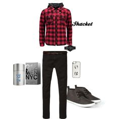 Nicely Dressed by nattysupplyco on Polyvore featuring Burberry, GUESS, Kate Spade and Scotch & Soda