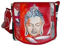 """""""Buddha"""" ist ein neues Bag von Leolini in exklusiver Ausführung.    Bei *Buddha* handelt es sich um ein 100% handgefertigtes Unikat. Deine bunte, k..."""