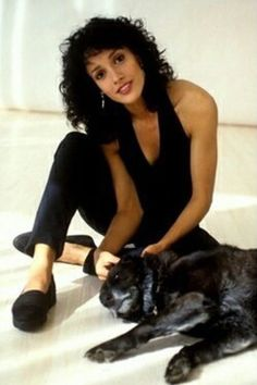 So in love with Jennifer Beals #jenniferbeals