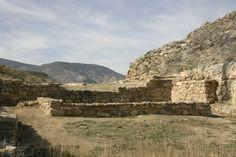 Yacimiento de Contrebia Leucade. Aguilar del Río Alhama (La Rioja)