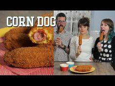 CORN DOG com GABBIE FADEL e FARU | Receita | Torrada Torrada
