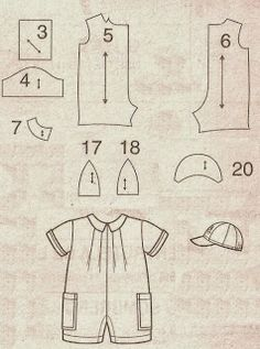 Trendy toys for boys sewing 39 Ideas Kids Dress Patterns, Doll Clothes Patterns, Baby Patterns, Doll Patterns, Clothing Patterns, Sewing Patterns, Sewing For Kids, Baby Sewing, Reborn Dolls