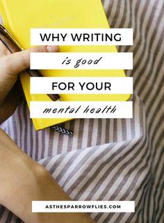 Writing   Mental Health   Journalling   Millennials