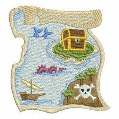 Pirate Combo 01 machine embroidery designs