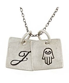 Urban Sweetpea Hamsa Double-Pendant Necklace #maxandchloe