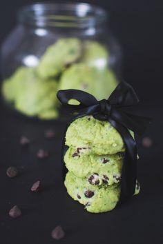 biscuit menthe et chocolat Dessert Recipes, Desserts, Clean Recipes, Biscotti, Gluten, Pudding, Nutrition, Sweets, Vegetables