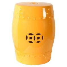 Special Offers - Ceramic Garden Stool (Yellow) - In stock & Free Shipping. You can save more money! Check It (September 04 2016 at 08:51AM) >> http://counterstoolsusa.net/ceramic-garden-stool-yellow/
