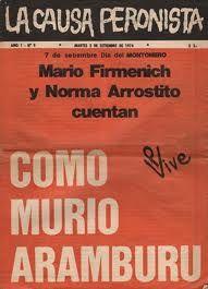 Revista oficial de Montoneros