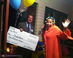 Publishers Clearing House & Winner - 2013 Halloween Costume Contest
