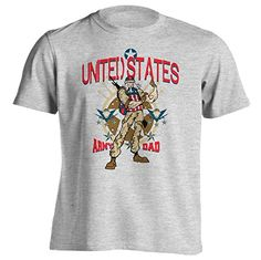 United States Army Dad - T-Shirt - Gray - Small You've Go...