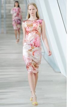 Flora and fauna at Preen Spring 2013 Runway Fashion, High Fashion, Paris Fashion, Style Fashion, Expensive Clothes, Pink Outfits, Playing Dress Up, Pretty Dresses, Passion For Fashion