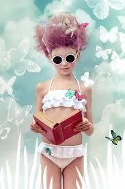 0bfa2275f0 Stella Cove Cruise White Butterfly Bikini -Fluttering butterflies accent  this adorable ruffle bikini. White bikini top with adjustable halter strap  and ...
