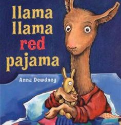 Friday, June 3, 2016. At bedtime, a little llama worries after his mother puts him to bed and goes downstairs.