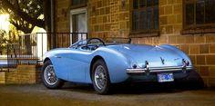 A true British Classic--the Austin Healey Roadster
