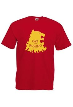 Camiseta Casa Lannister, diseño 1