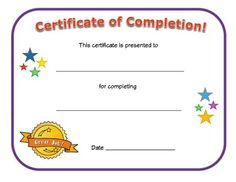 Blank Certificate Of Achievement Template Blank Certificate Of Achievement Template . Blank Certificate Of Achievement Template . Free Printable Certificate Templates, Certificate Of Completion Template, Blank Certificate, Certificate Of Achievement Template, Award Certificates, Certificate Programs, Preschool Certificates, Kids Awards, Vacation Bible School