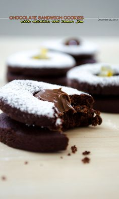 Chocolate Sandwich Cookies 1