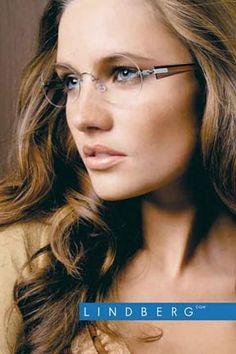 Air Titanium, Lindberg Eyewear, Spirit, Spectech in Santa Monica, California. Womens Prescription Glasses, Womens Glasses, Ladies Glasses, Rimless Glasses, Eye Glasses, Over 50 Womens Fashion, Fashion Women, Glasses Trends, Color Me Beautiful