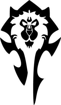 (This is an abomination) WoW Horde/Alliance combination tattoo Art Warcraft, Wow Of Warcraft, World Of Warcraft 3, Alliance Wow, Horde Tattoo, Wow Horde, Nerd Crafts, Gaming Tattoo, Dark Art