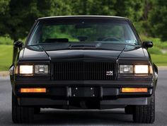 Buick GNX - My old man's dream car, I WILL buy one of these for him some day. Rat Rods, Gta, Buick Grand National Gnx, Buick Envision, Automobile, Buick Cars, Buick Skylark, Gm Car, Buick Regal