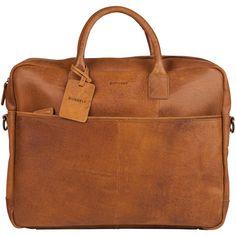 Burkely Vintage Laptoptas 17 inch 733922 Cognac