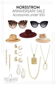 Great finds at the Nordstrom Anniversary Sale. I've rounded up my top picks in accessories under $50. Hot Summer Outfits, Fall Lookbook, Initial Pendant Necklace, Warm Weather Outfits, Summer Necklace, Vacation Style, Nordstrom Anniversary Sale, Weekend Wear, Spring Trends