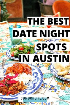 My husband and I love going out to find good date night restaurants in Austin, and these are 21 of our very favorites. Some of casual Austin restaurants, and some are new restaurants to try in Austin, but all are fabulous. Map included!
