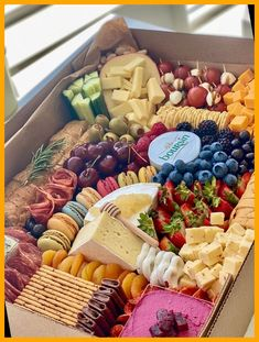 The perfect addition to any small gathering! Our gorgeous M E D I U M box will be sure to impress all of your guests! 🍇🍒 food platters party Charcuterie Graze Box 42+ | food platters party | 2020 Charcuterie Recipes, Charcuterie And Cheese Board, Charcuterie Platter, Cheese Boards, Charcuterie Picnic, Meat Cheese Platters, Meat Platter, Cheese Plates, Wine Cheese