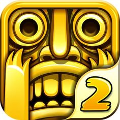Even the game icon is surprised - Temple Run 2 hits 20 million downloads in it's first week. A fantastic game app to distract yourself in class