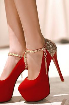 843fcf30c349 Size 32-42 Fashion Spring Autumn flock women red wedding shoes