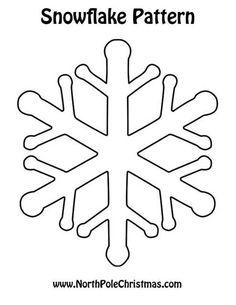 snowflake stencil 11 christmas crafts snowflake stencil