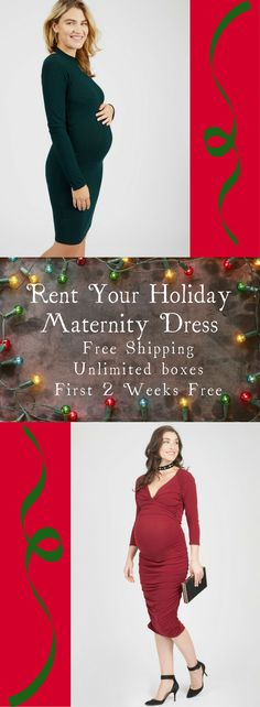 Rent your holiday maternity dress! No need to buy when you will only wear it once. Le Tote is an amazing company. Shipping took 2 days and is free. Pick 3 clothing items and 2 accessories. Unlimited boxes per month. When you are done just send it back in the free shipping bag they give you and stick it in your mailbox. Click to get first month free!! You won't regret it! #holidaymaternitydress #holidaymaternityoutfits #christmasmaternitydress #maternitydressforchristmas #affiliate