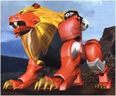 The Power Animals (パワーアニマル Pawā Animaru) are the living mecha comrades of the Gaorangers. They can combine into various combinations found in the Gaoranger Arsenal article. See also: Red Lion Wildzord Power Rangers Wild Force, Power Rangers Comic, Mighty Power Rangers, Power Rangers Megazord, Power Rengers, Power Animal, Blue Shark, Cute Japanese, Ghost Rider