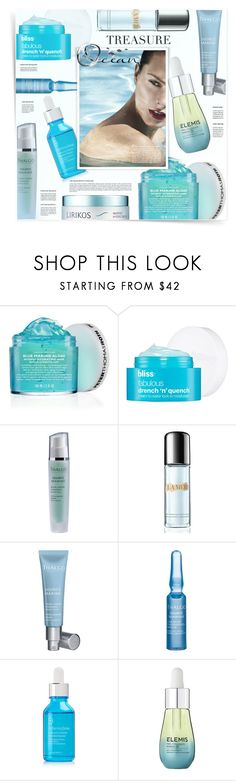 """""""Hydration from the Ocean - contest in Creative Beatuy"""" by kiki-bi ❤ liked on Polyvore featuring beauty, See by Chloé, Peter Thomas Roth, Bliss, Thalgo, La Mer, Dr. Dennis Gross Skincare, Elemis and Lirikos"""