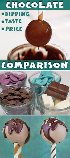 Are your cake pops lumpy? Do they taste bad? The problem is your chocolate! Compare 6 brands based on ease of use, taste, and price to find the best chocolate for dipping your cake pops.