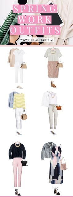 Spring Work Outfits
