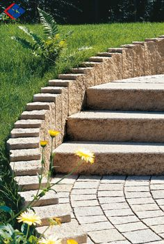 G682 Pineapple stair stone