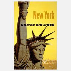 United New York Print