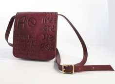 small shoulder bag mod. Jacopo in naturally tanned leather