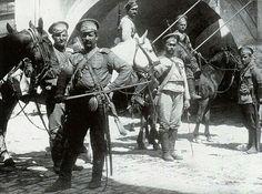 Cossacks in Galicia (Ukraine), 1916