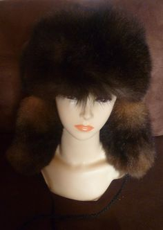 84ea2a60f76 New Zealand Possum Fur Man s Bush Hat Fur Outside by bearcottage Natural  Brown